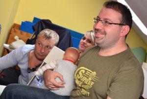 Studio pro těhotné - Školení partnera k péči o miminko